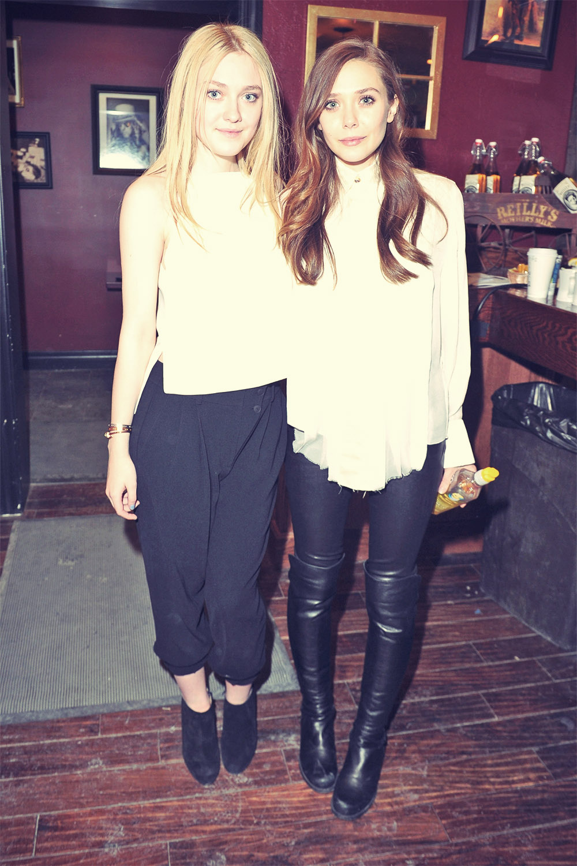 Elizabeth Olsen attends Very Good Girls Official Cast
