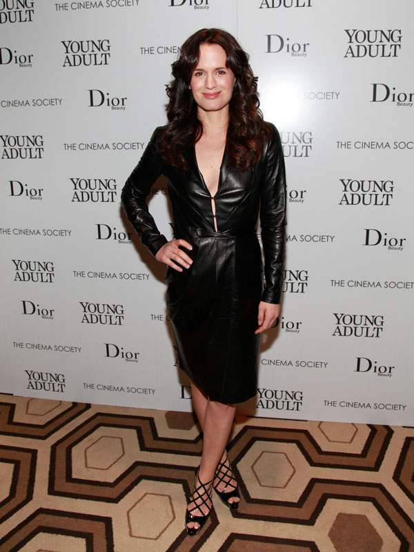 Elizabeth Reaser The Cinema Society & Dior Beauty screening of Young Adult