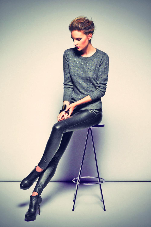 Ella Kandyba leather mix