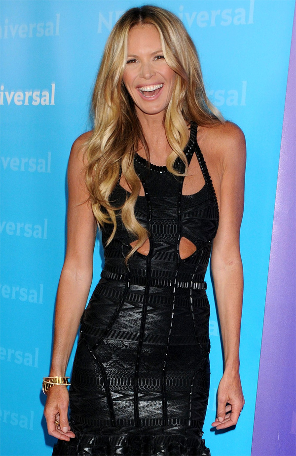 Elle Macpherson at NBC/Universal Winter All-Star Party in Pasadena