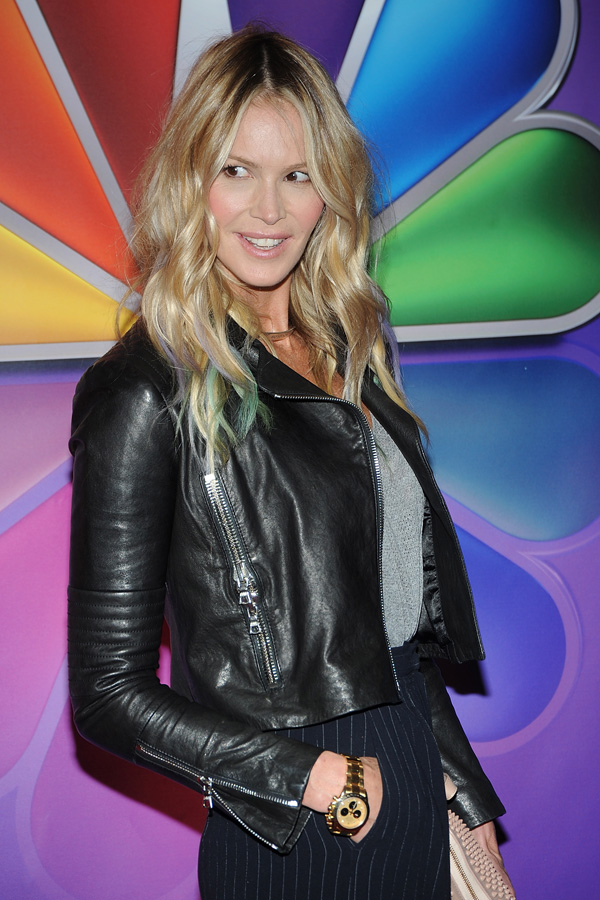 Elle Macpherson attends NBC's Upfront Presentation