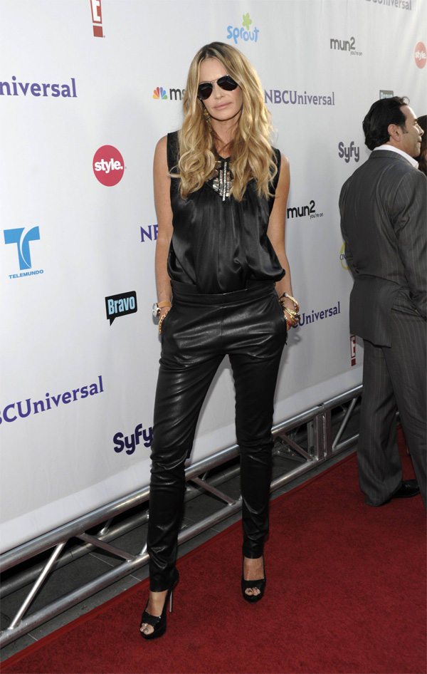 Elle MacPherson at NBC Universal All Star Party 2011