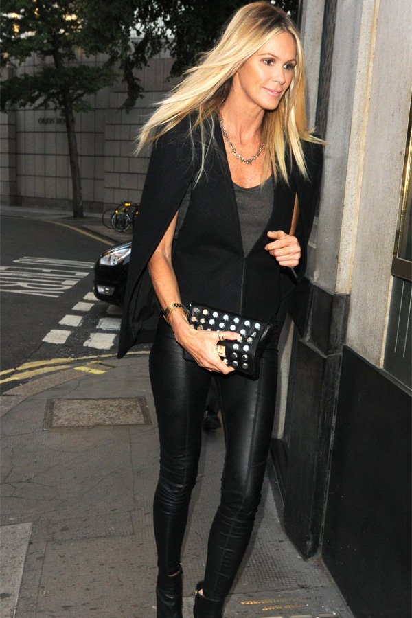 Elle Macpherson at the Ivy in London