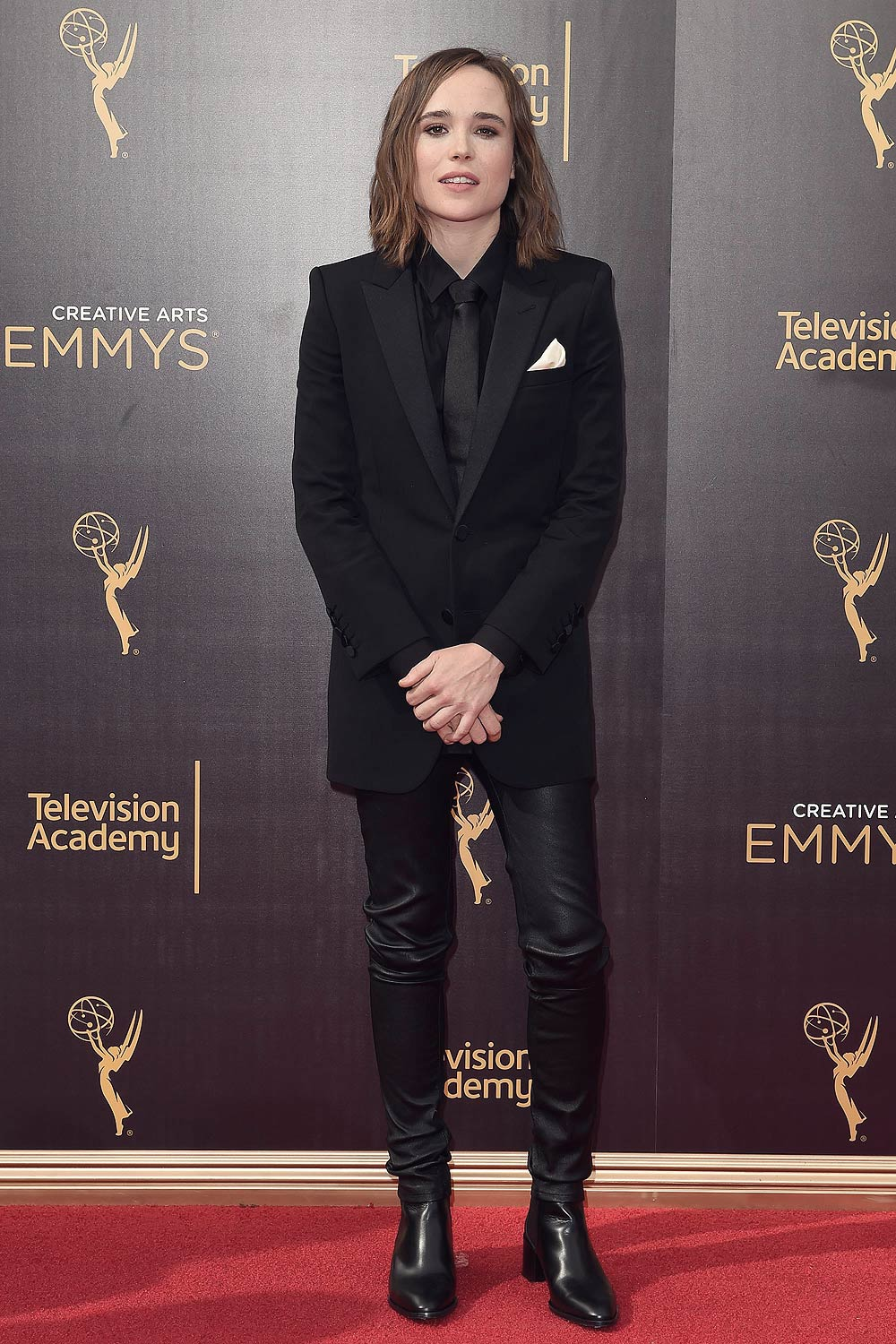 Ellen Page attends 2016 Creative Arts Emmy Awards