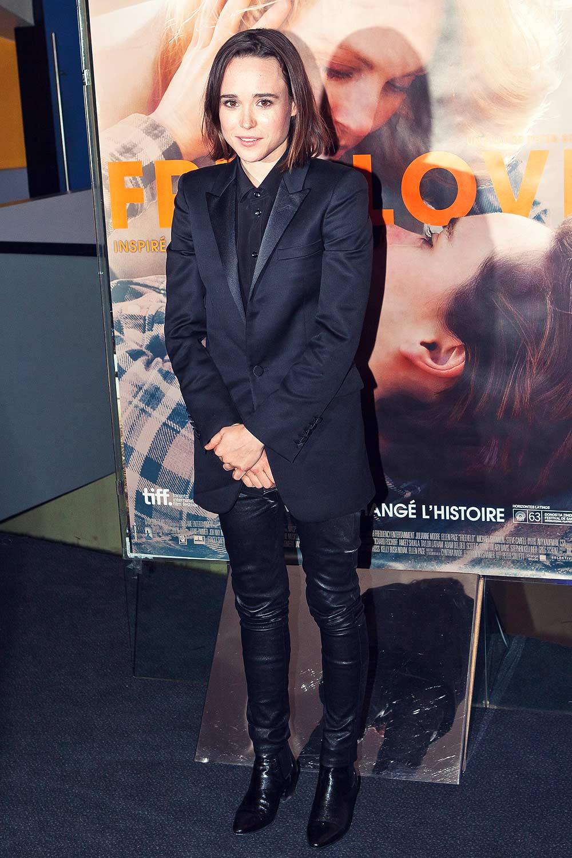 Ellen Page attends Free Love Paris Premiere