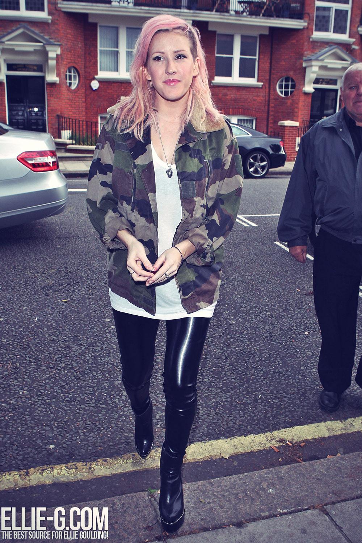 Ellie Goulding at BBC Maida Vale Studios