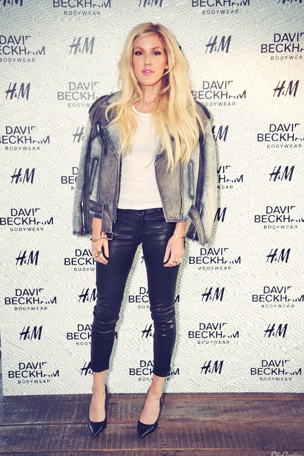 Ellie Goulding attends David Beckham For H&M Swimwear Private Launch