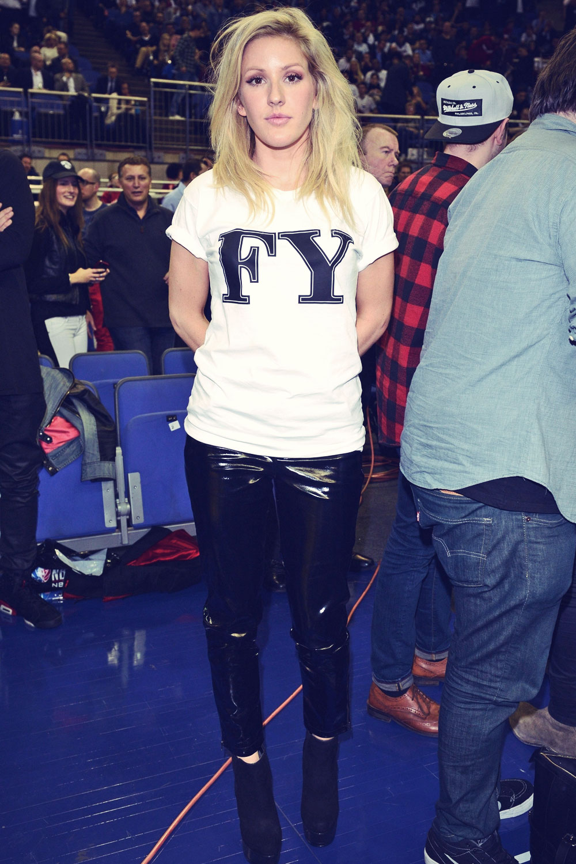 Ellie Goulding at NBA London