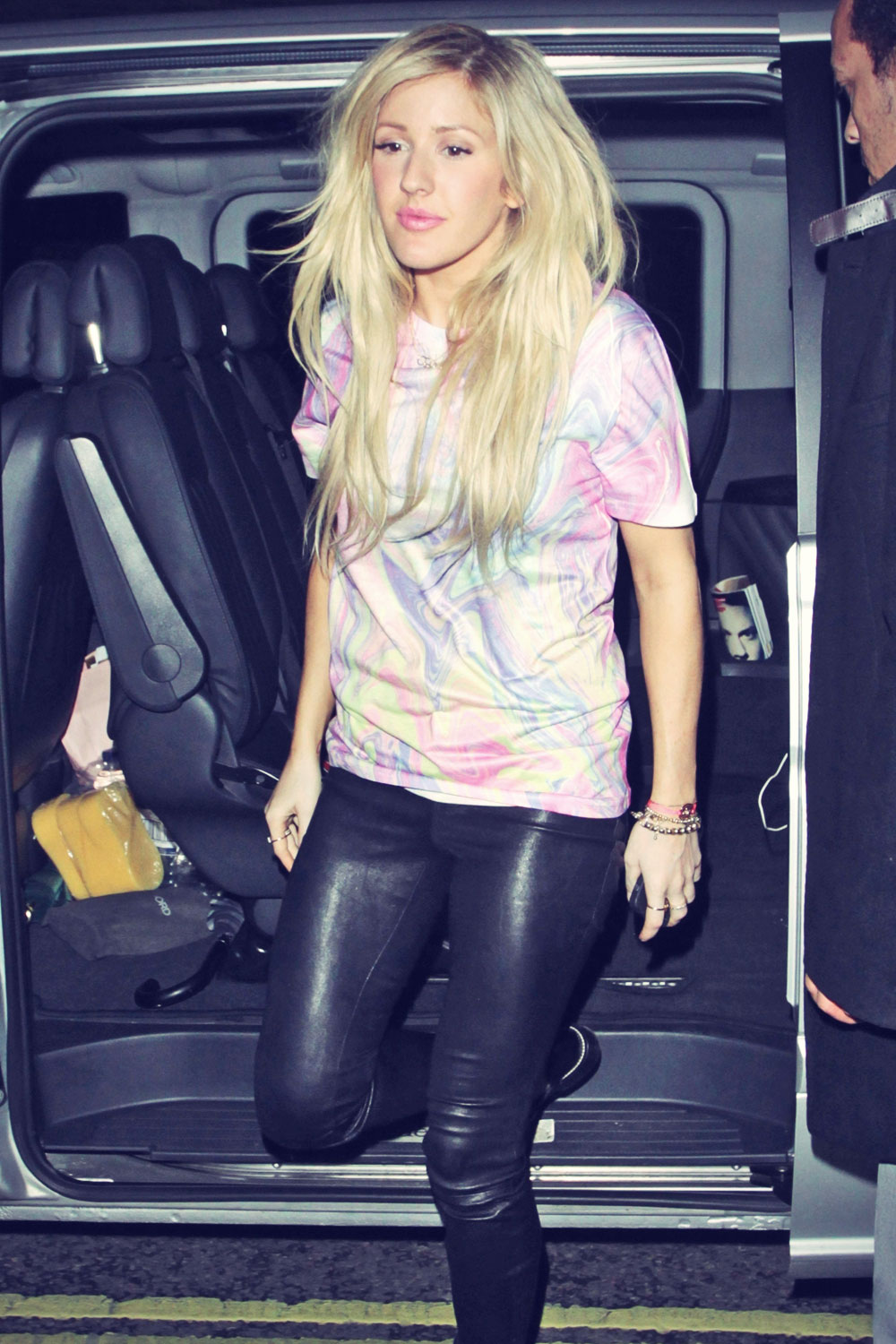 Ellie Goulding at BBC Radio 1 Studios