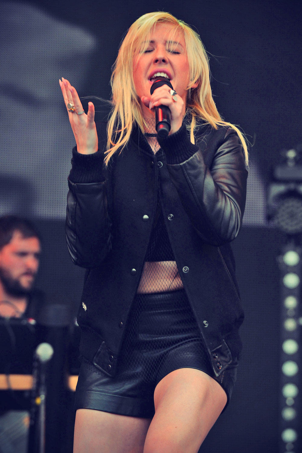 Ellie Goulding at Day 2 of Radio 1's Big Weekend Festival