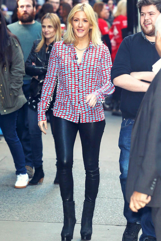 Ellie Goulding at Good Morning America