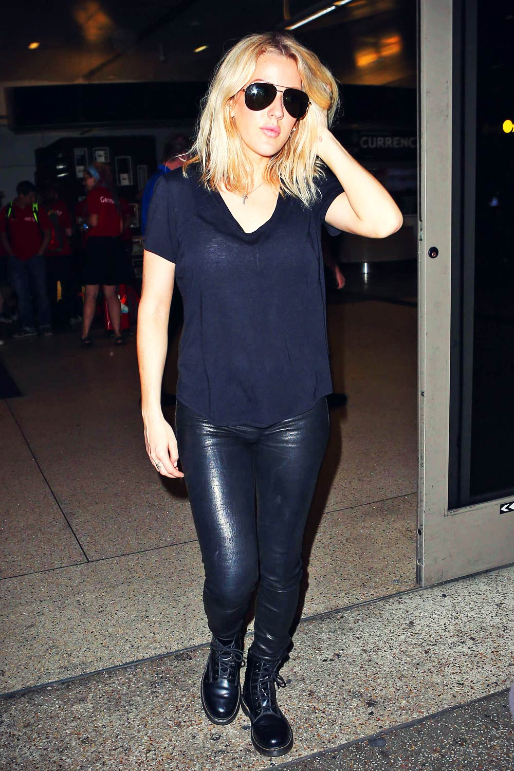 Ellie Goulding at LAX airport in LA