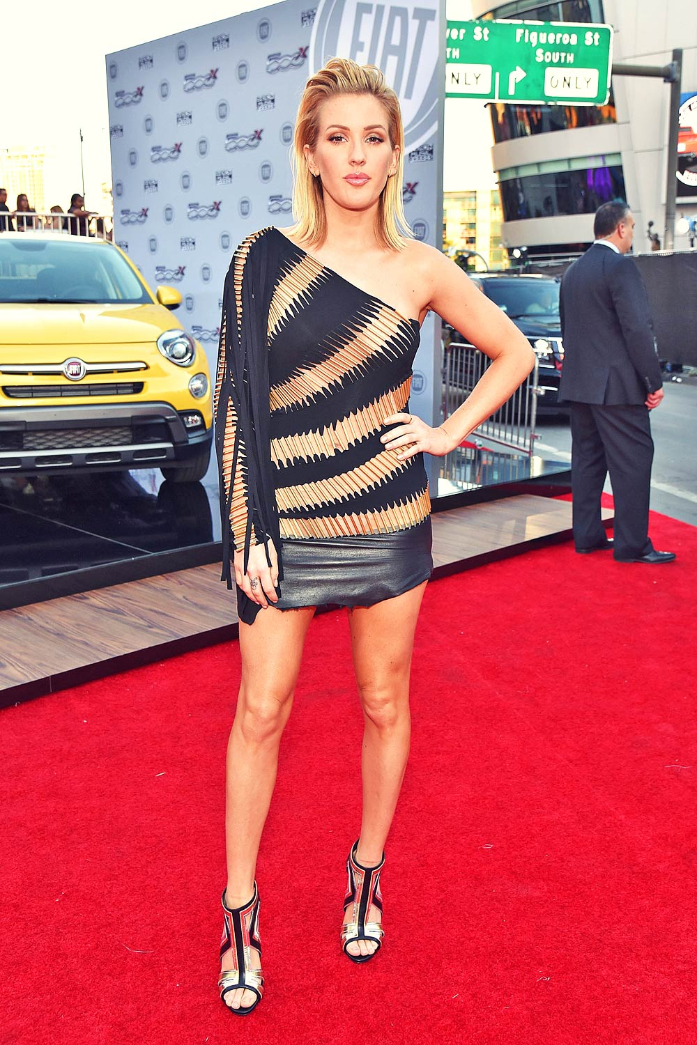 Ellie Goulding attends 2015 American Music Awards