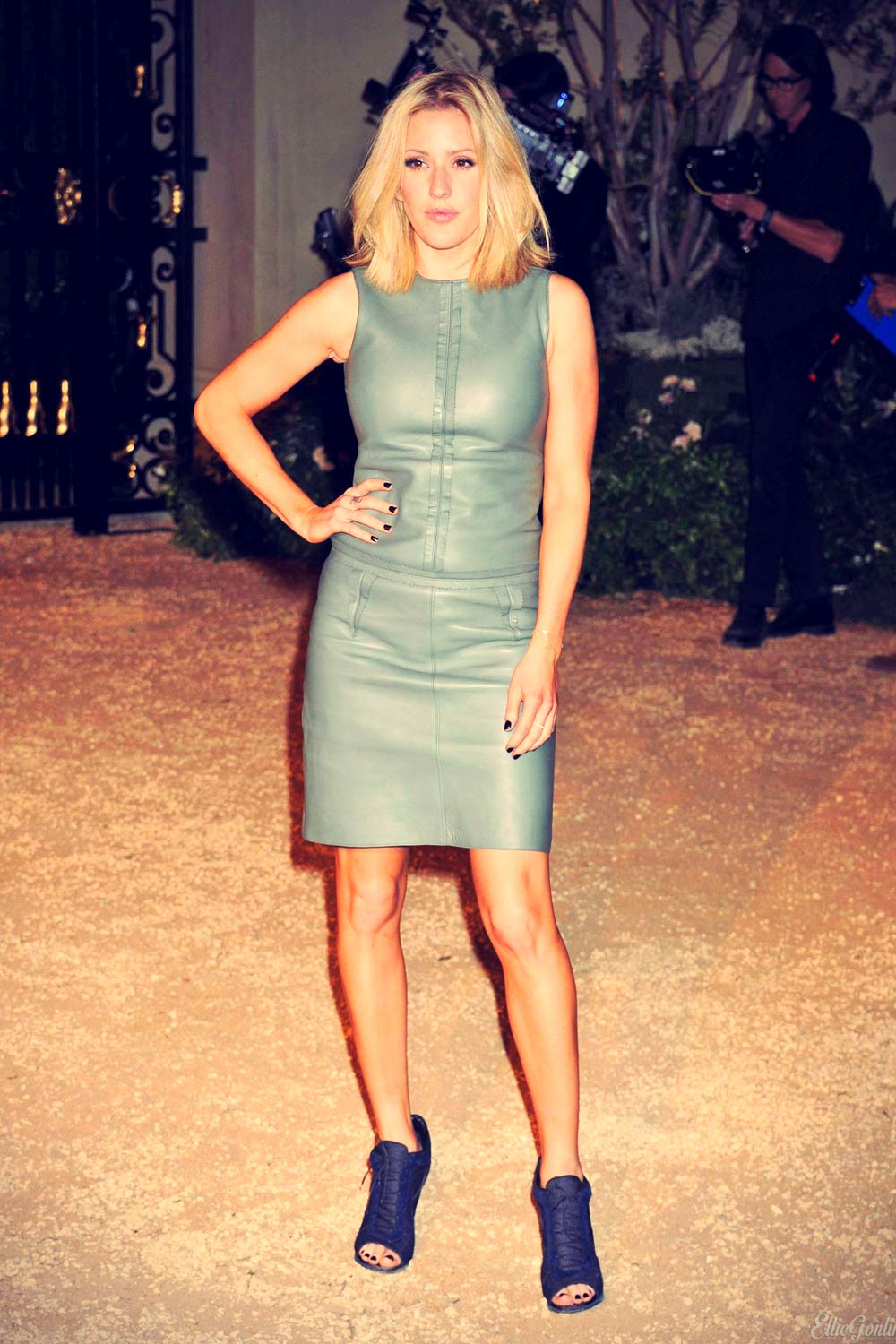 Ellie Goulding attends Burberry London in Los Angeles