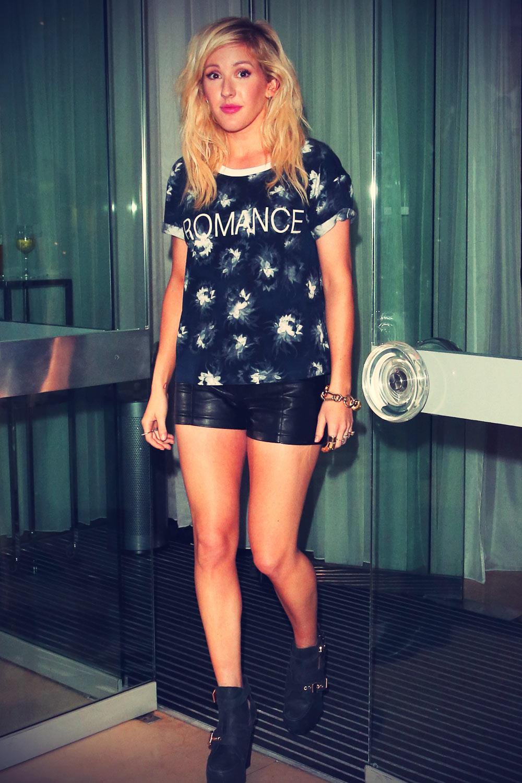 Ellie Goulding attends LFW SS 2014 ELLE party