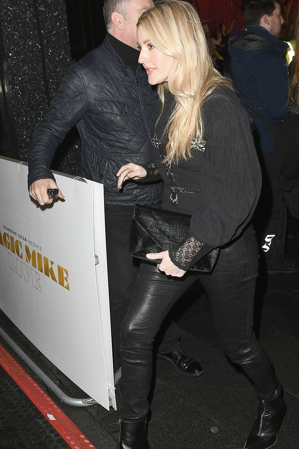 Ellie Goulding attends Magic Mike live