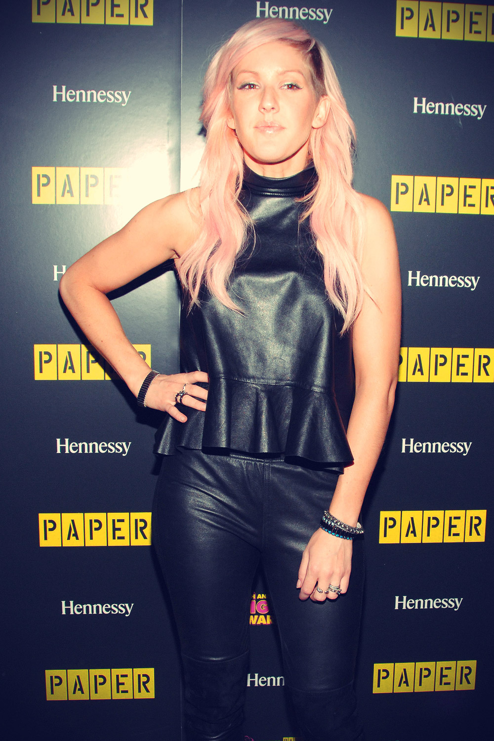 Ellie Goulding attends Paper Magazine's 8th Annual Nightlife Awards