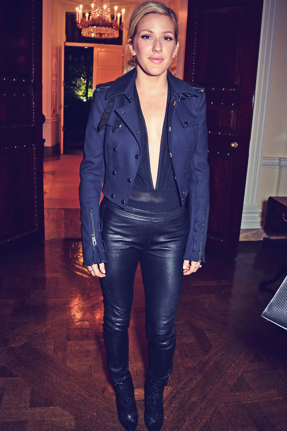 Ellie Goulding attends Vogue & J Crew Party