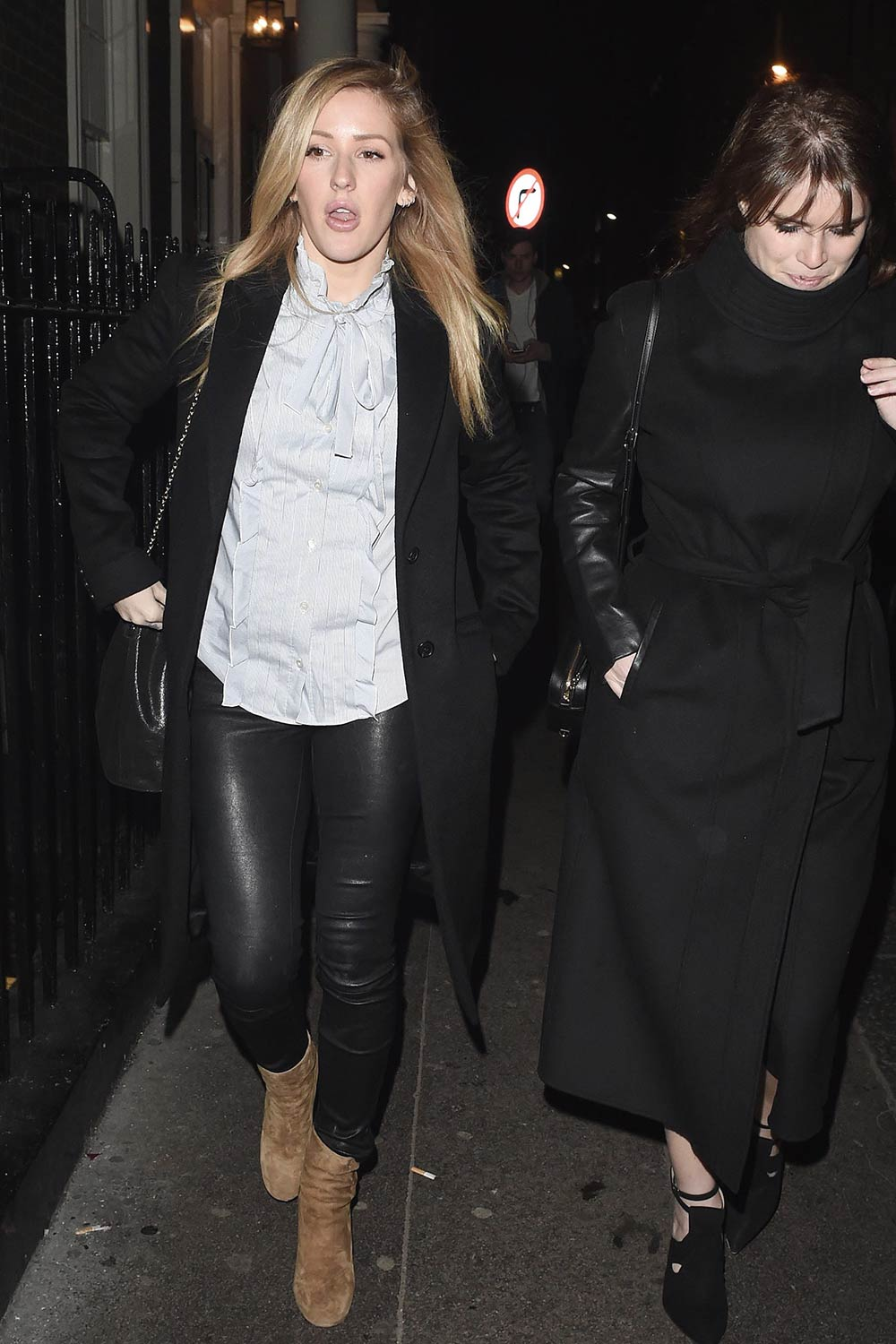 Ellie Goulding leaving the Arts Club