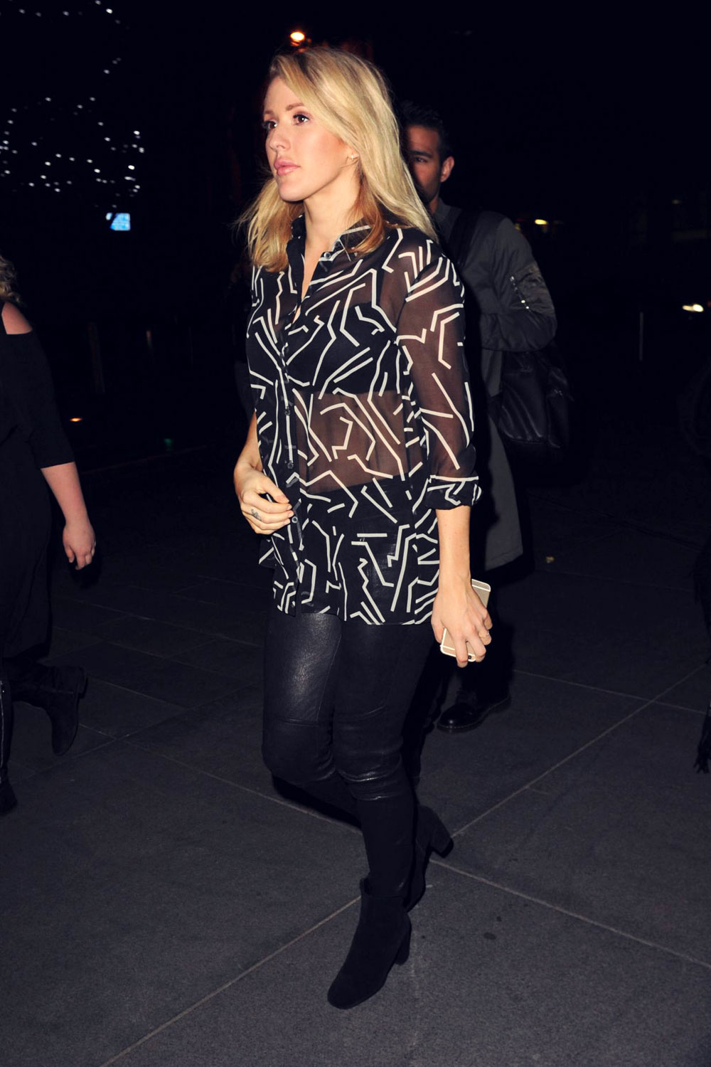 Ellie Goulding out in Manchester