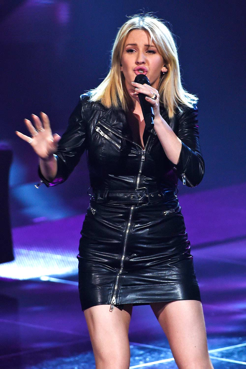 Ellie Goulding Performing At The Voice Of Holland