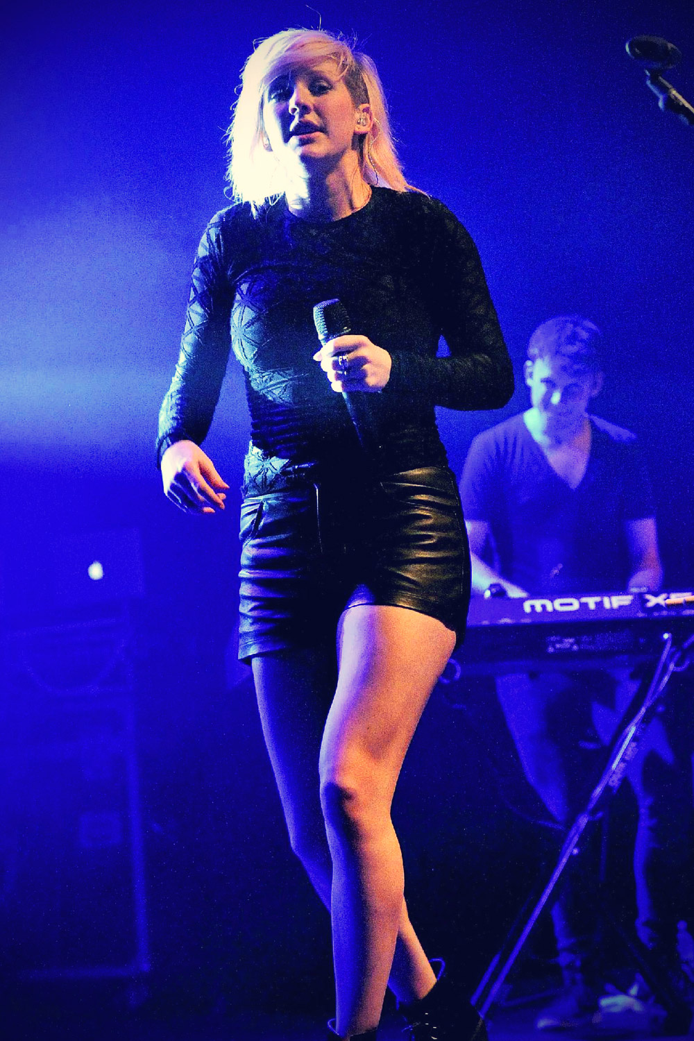 Ellie Goulding performing live at The Sound Academy Toronto