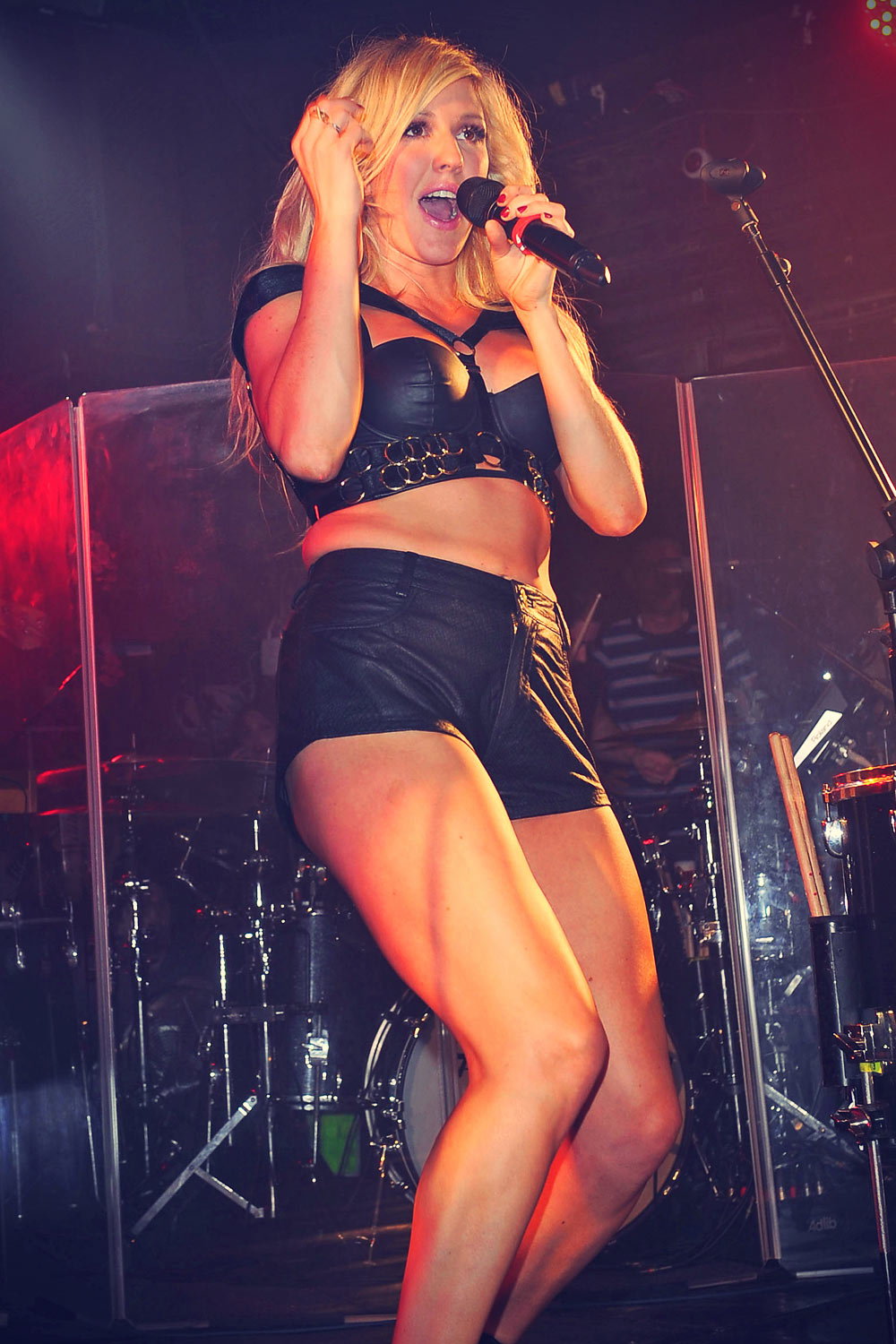 Ellie Goulding performs at G-A-Y Clubnight at Heaven