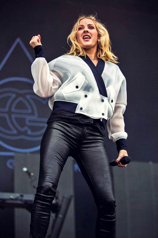Ellie Goulding performs at Tinderbox Festival
