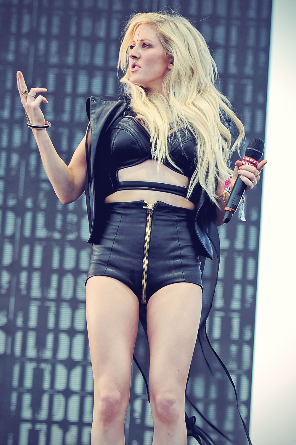 Ellie Goulding performs onstage at the 2014 Coachella