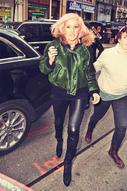 Ellie Goulding Visits Good Morning America