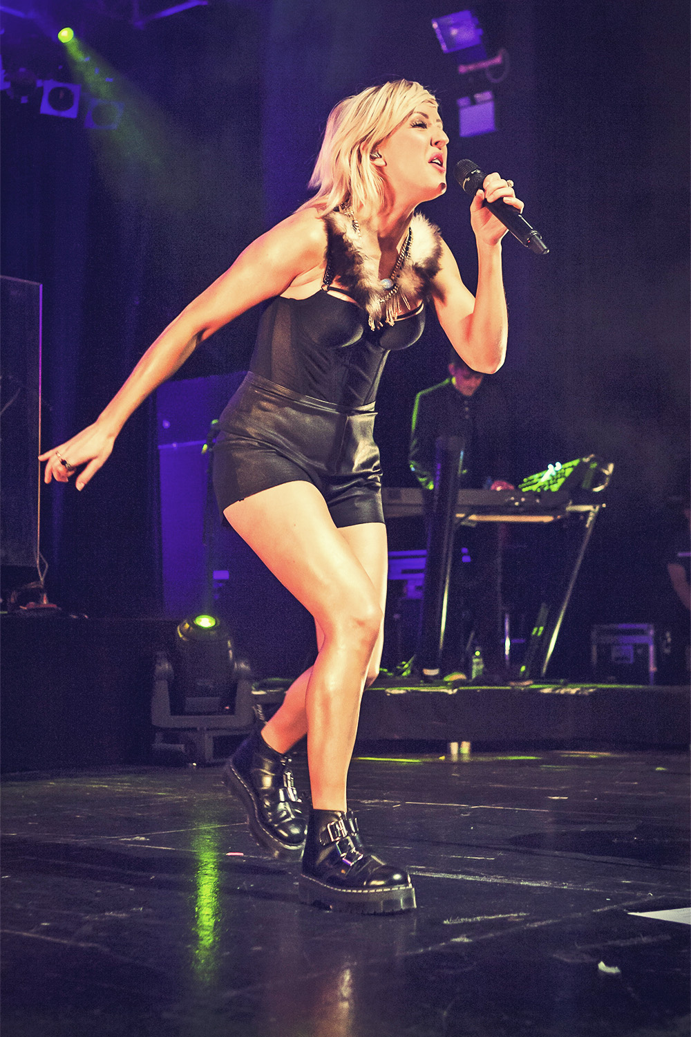 Ellie Goulding perform Concert at O2 Academy