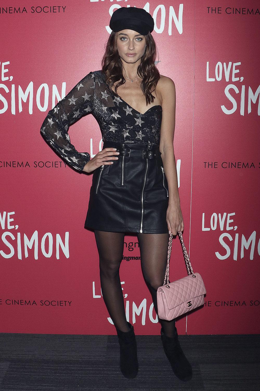 Ellinor Sandborg attends Love, Simon Film Premiere