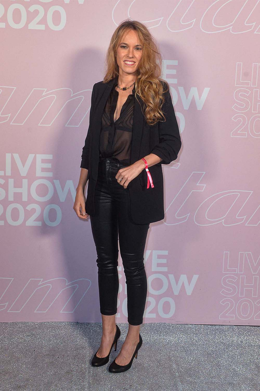 Elodie Fontan attends Etam show