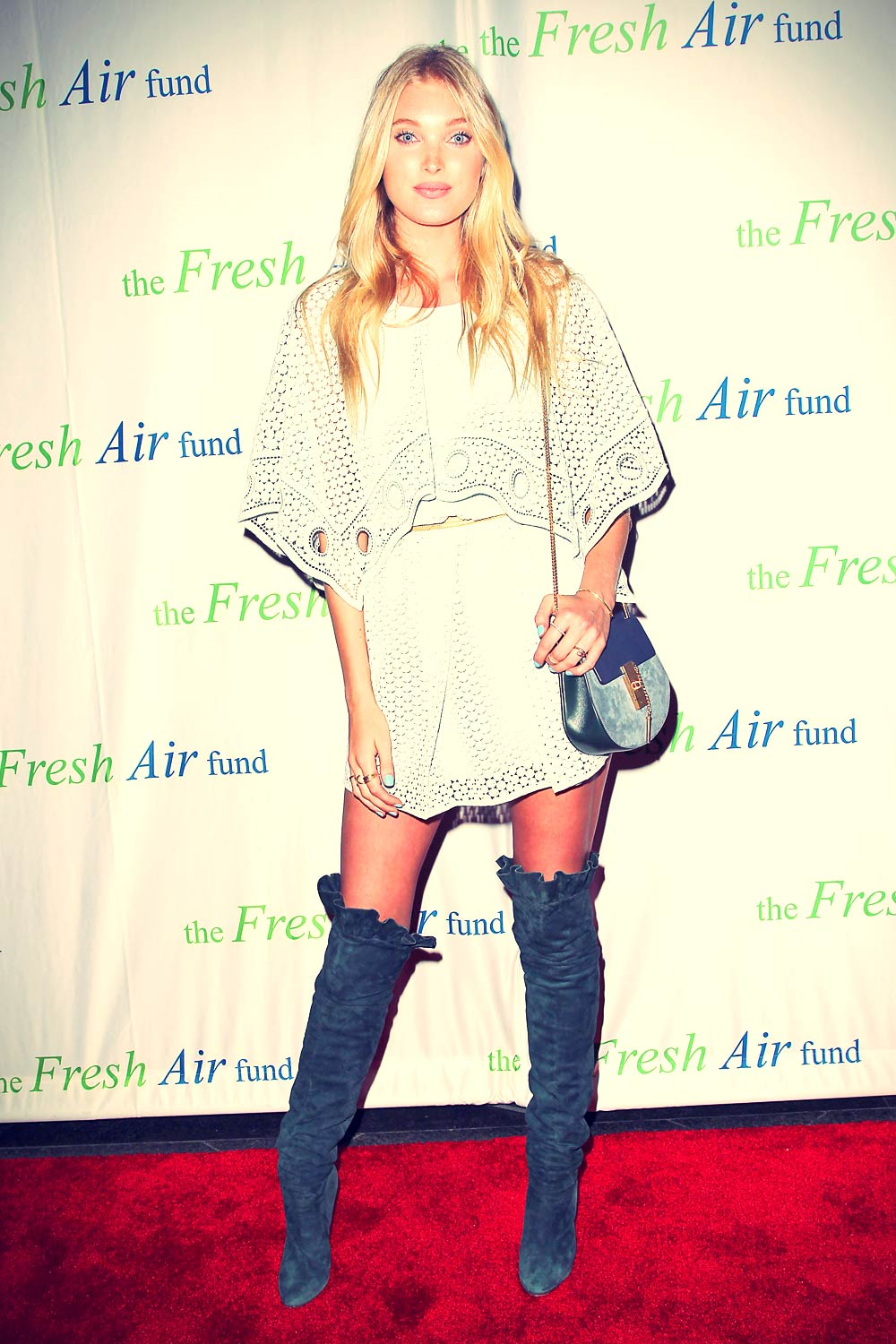 Elsa Hosk attends The Fresh Air Fund Spring Benefit