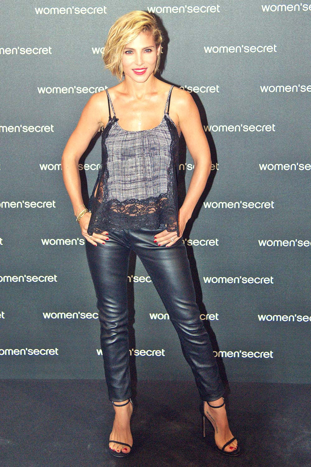 Elsa Pataky attends Women'Secret Dark Seduction Fashion Film