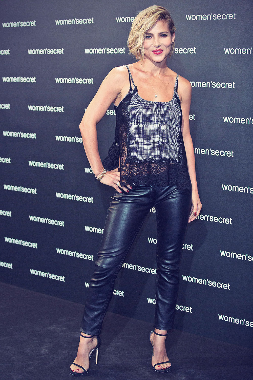 Elsa Pataky Attends Women Secret Dark Seduction Fashion