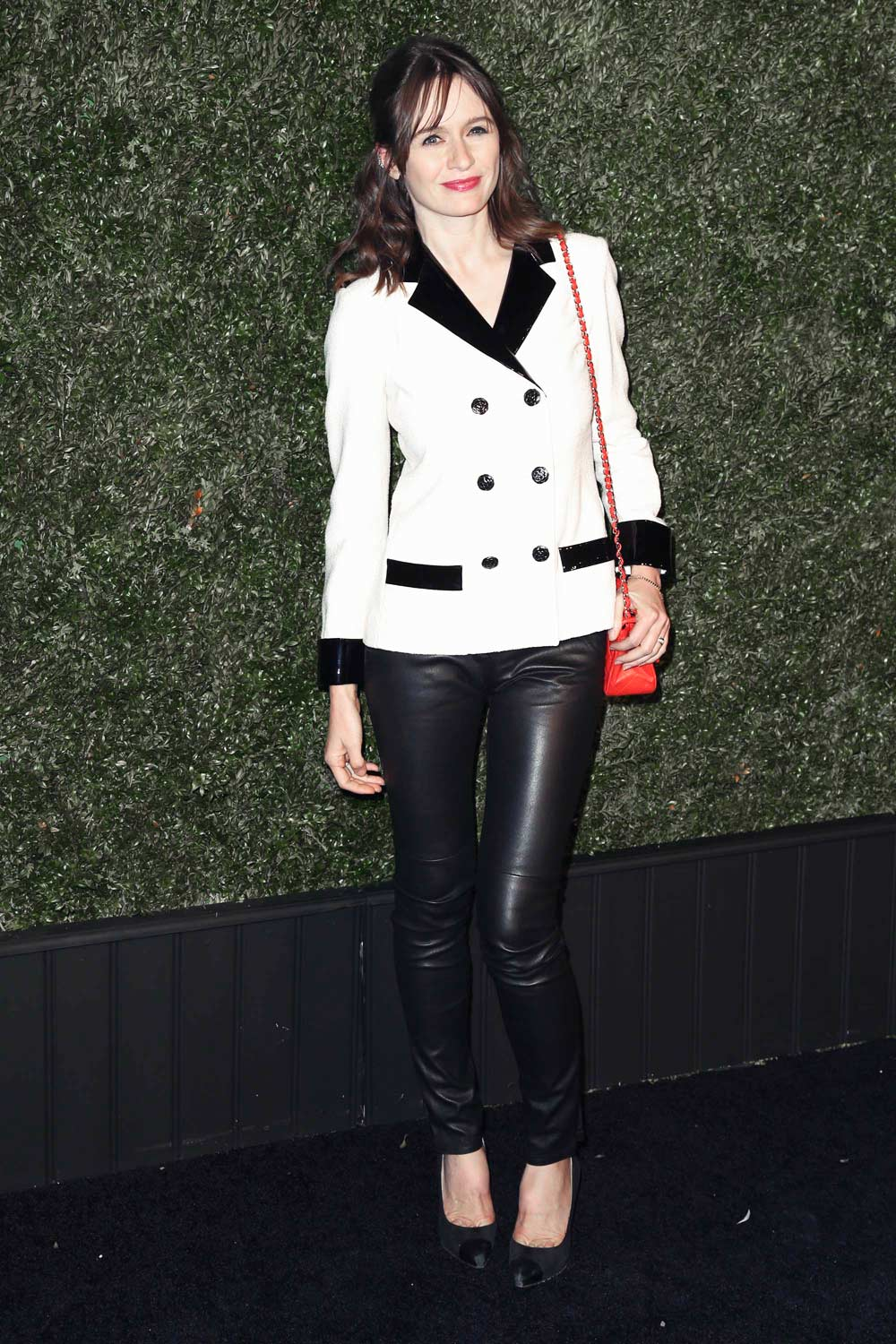 Emily Mortimer attends the 11th annual Chanel Tribeca Film Festival Artists Dinner