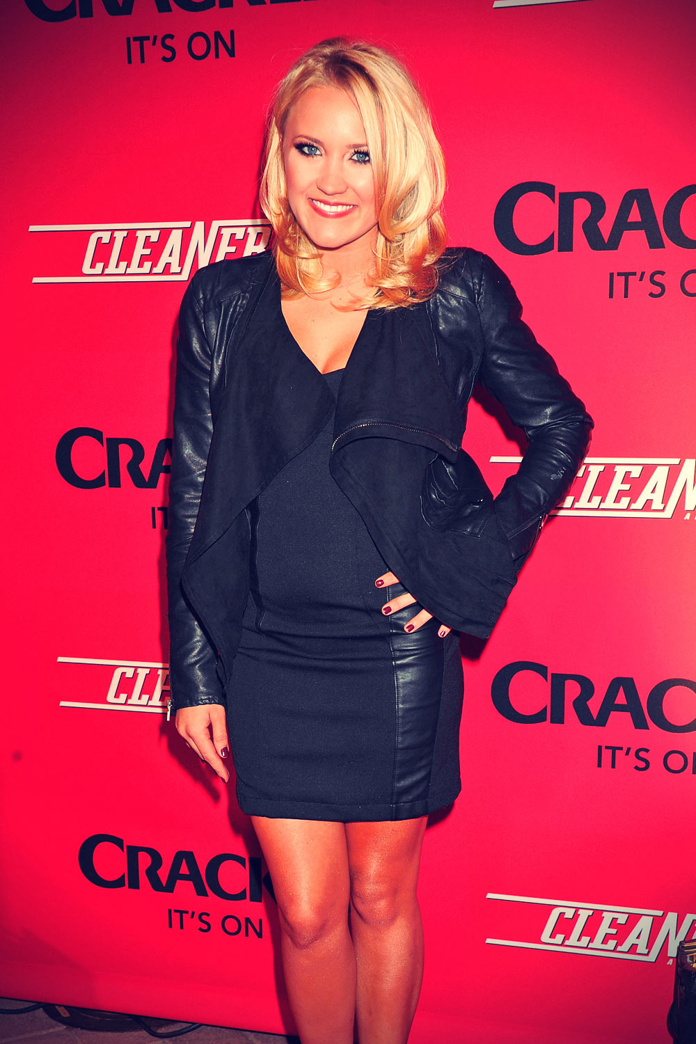Emily Osment Premiere Of Crackle's New Original Digital Series Cleaners