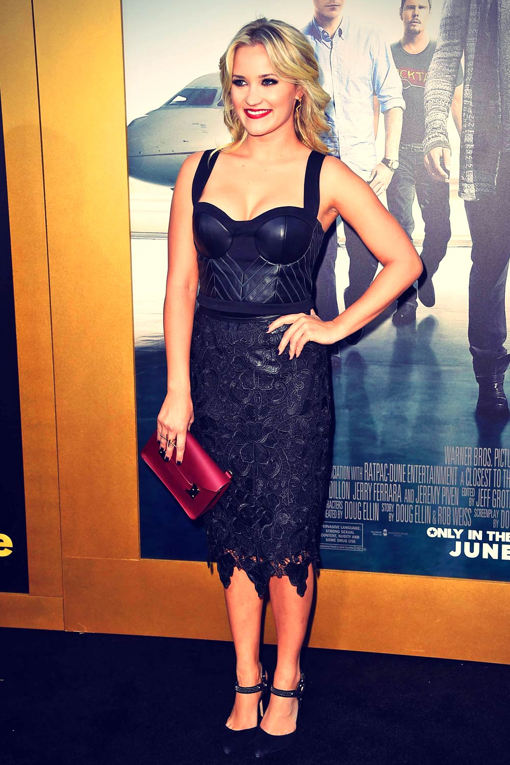 Emily Osment attends Entourage Hollywood Premiere