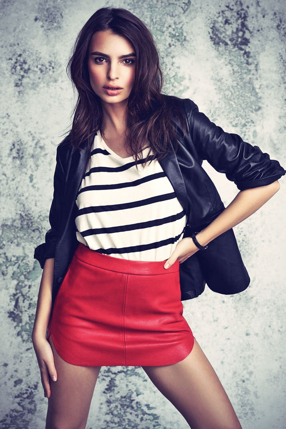 Emily Ratajkowski Campaign Shoot for Revolve Clothing 2014