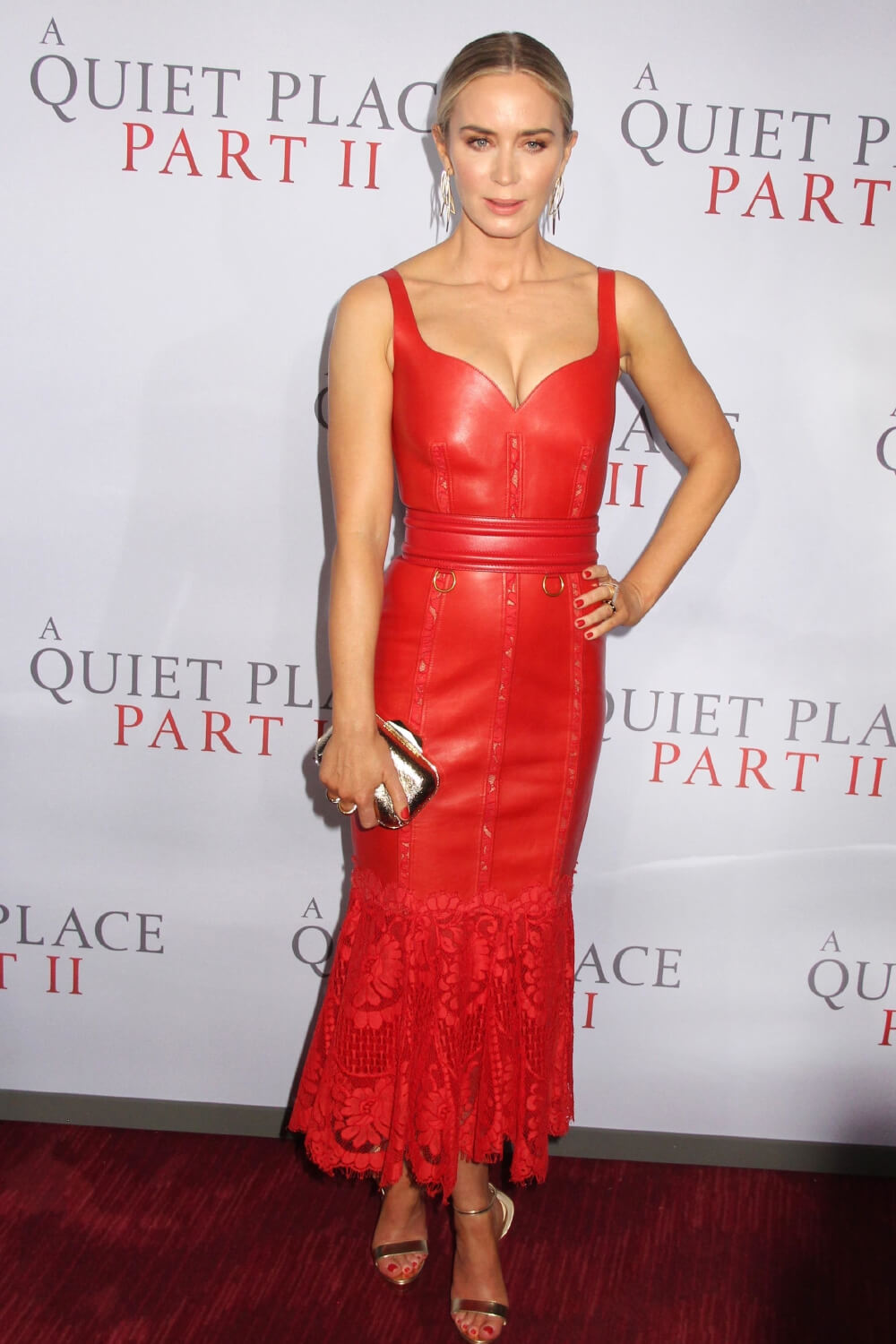 Emily Blunt at A Quiet Place Part II World Premiere