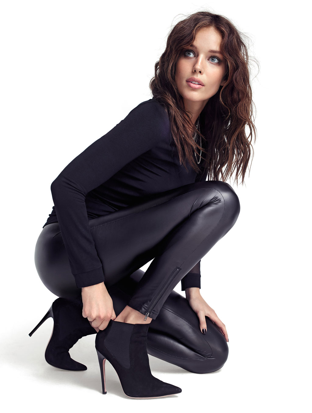 Emily DiDonato photoshoot Fall Winter 2014 Calzedonia Collection