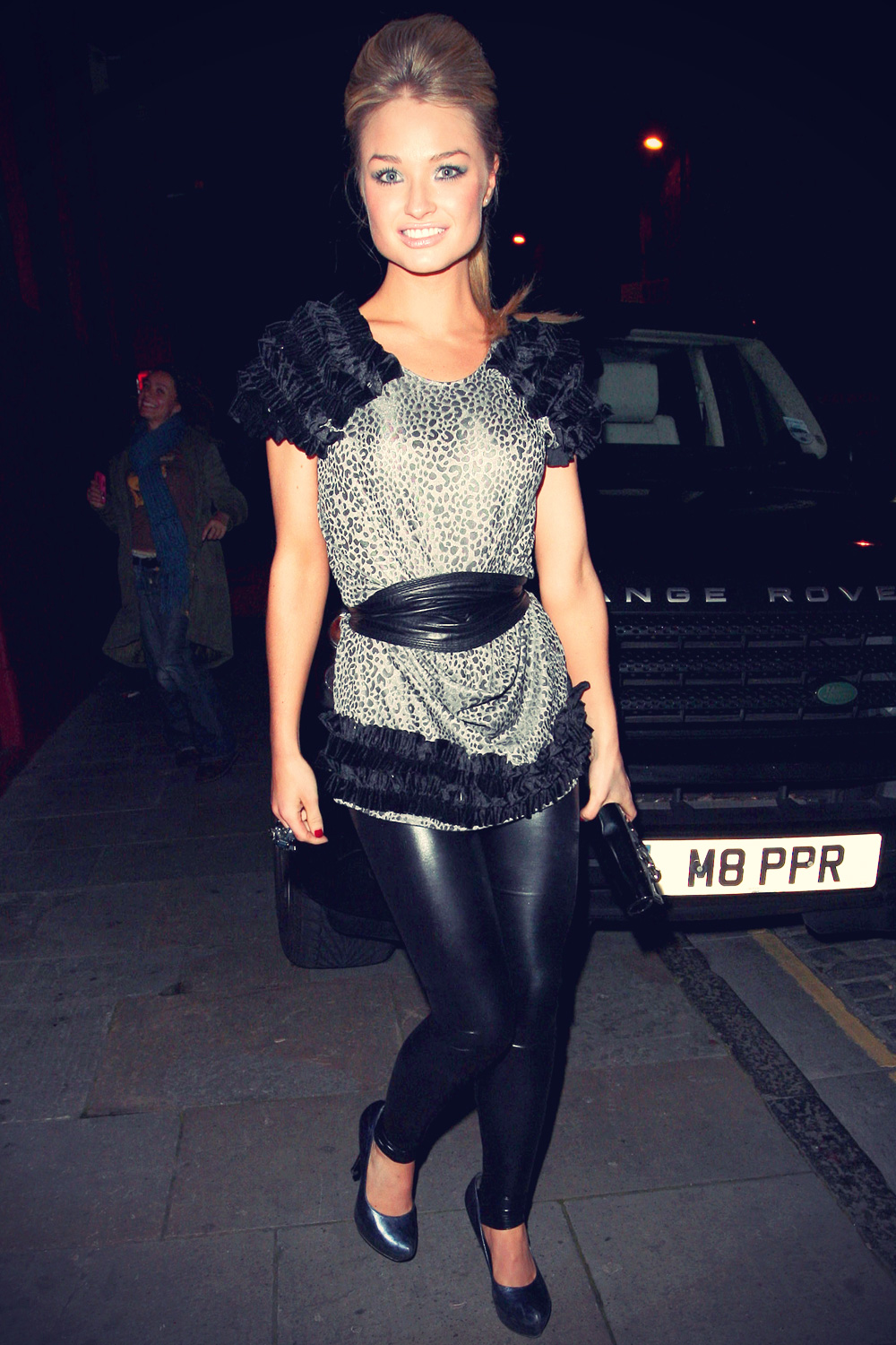 Emma Rigby at a Hollyoaks leaving party