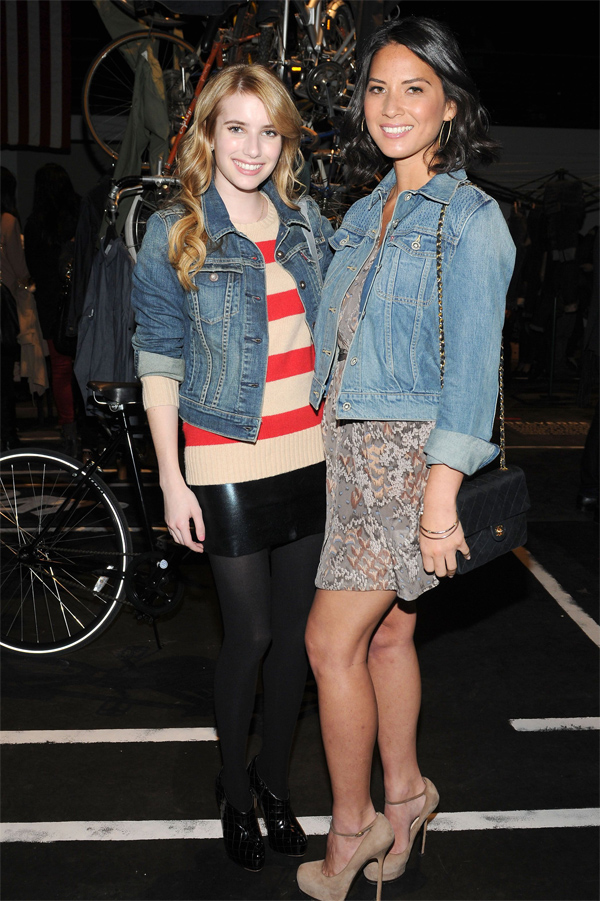 Emma Roberts at Levis Celebrates the Spring 2012 Collection