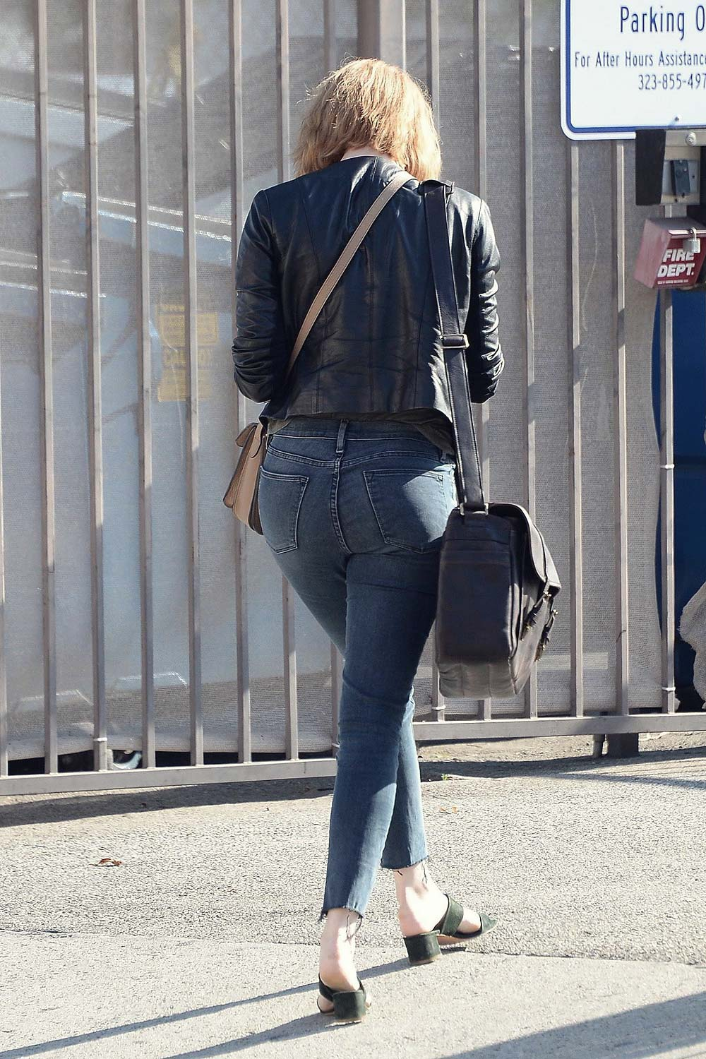 Emma Stone out in Beverly Hills