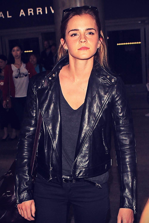 Emma Watson seen at LAX