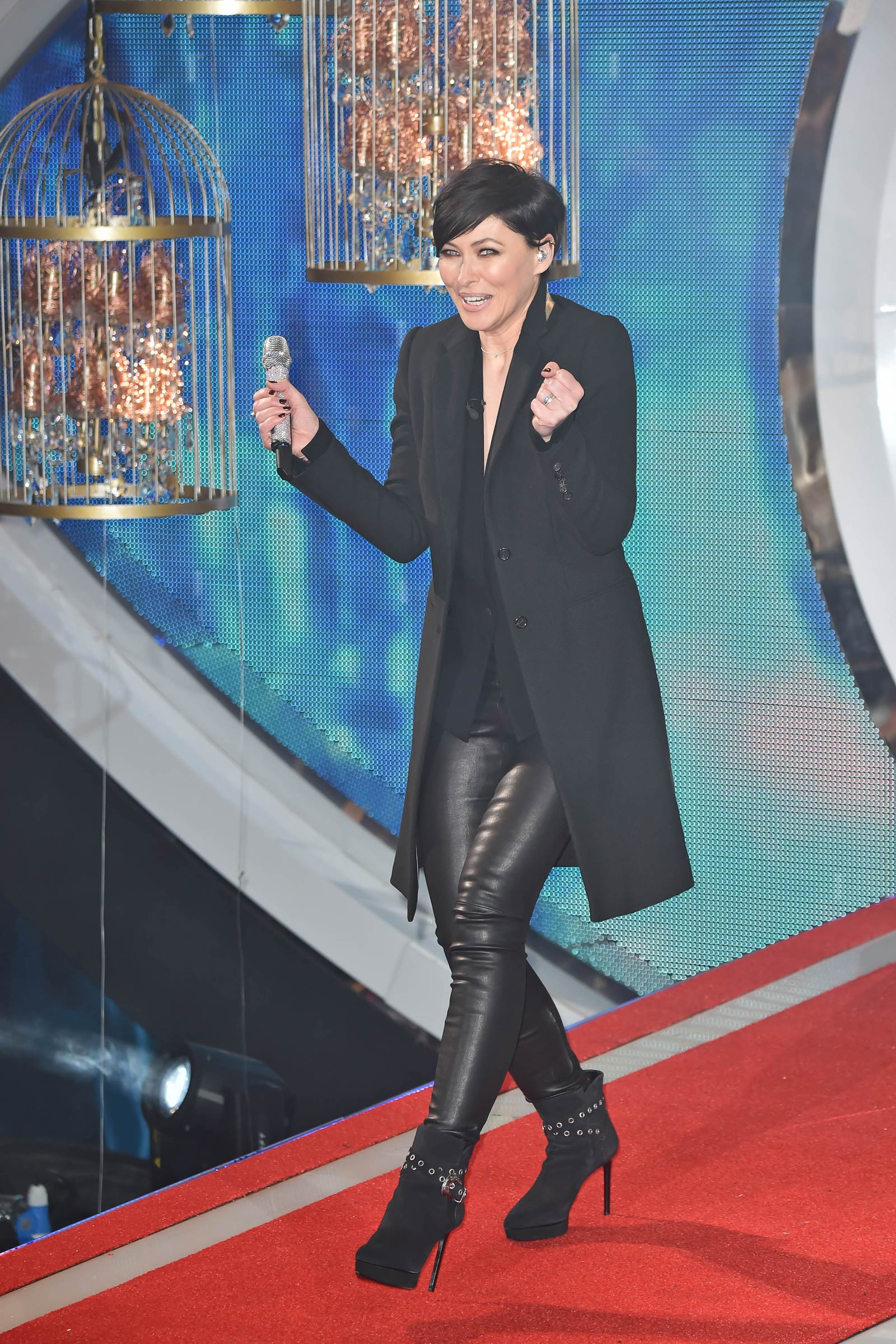 Emma Willis Attends Celebrity Big Brother Launch Night