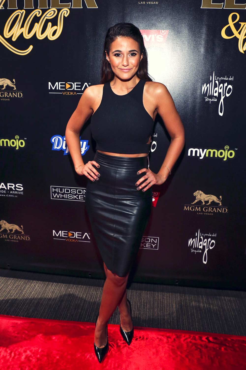 Emmanuelle Chriqui attends 13th Annual Leather & Laces Mega Party