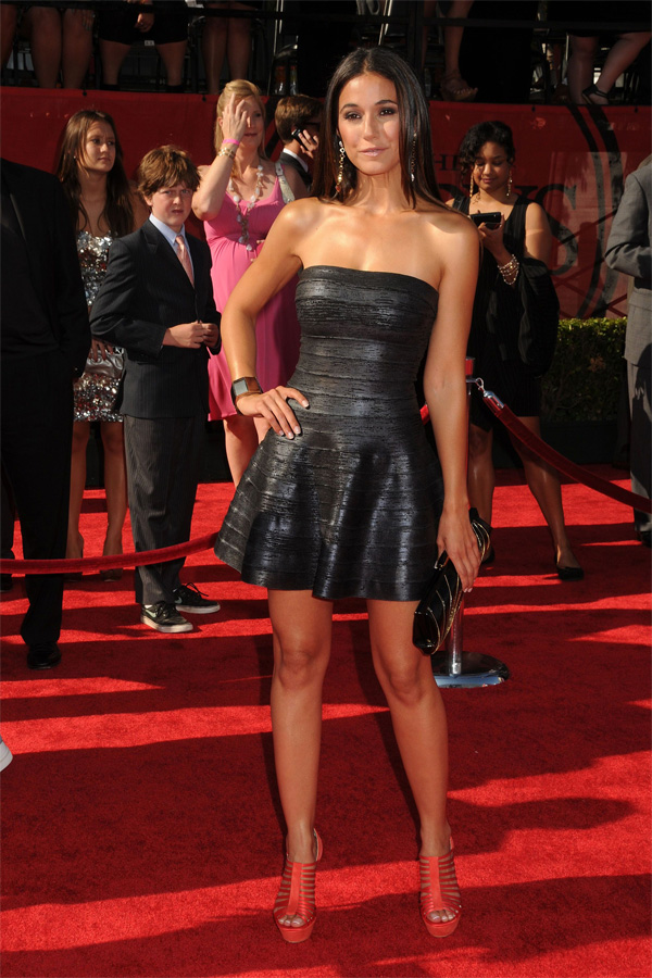 Emmanuelle Chriqui at 2011 ESPY Awards in Los Angeles
