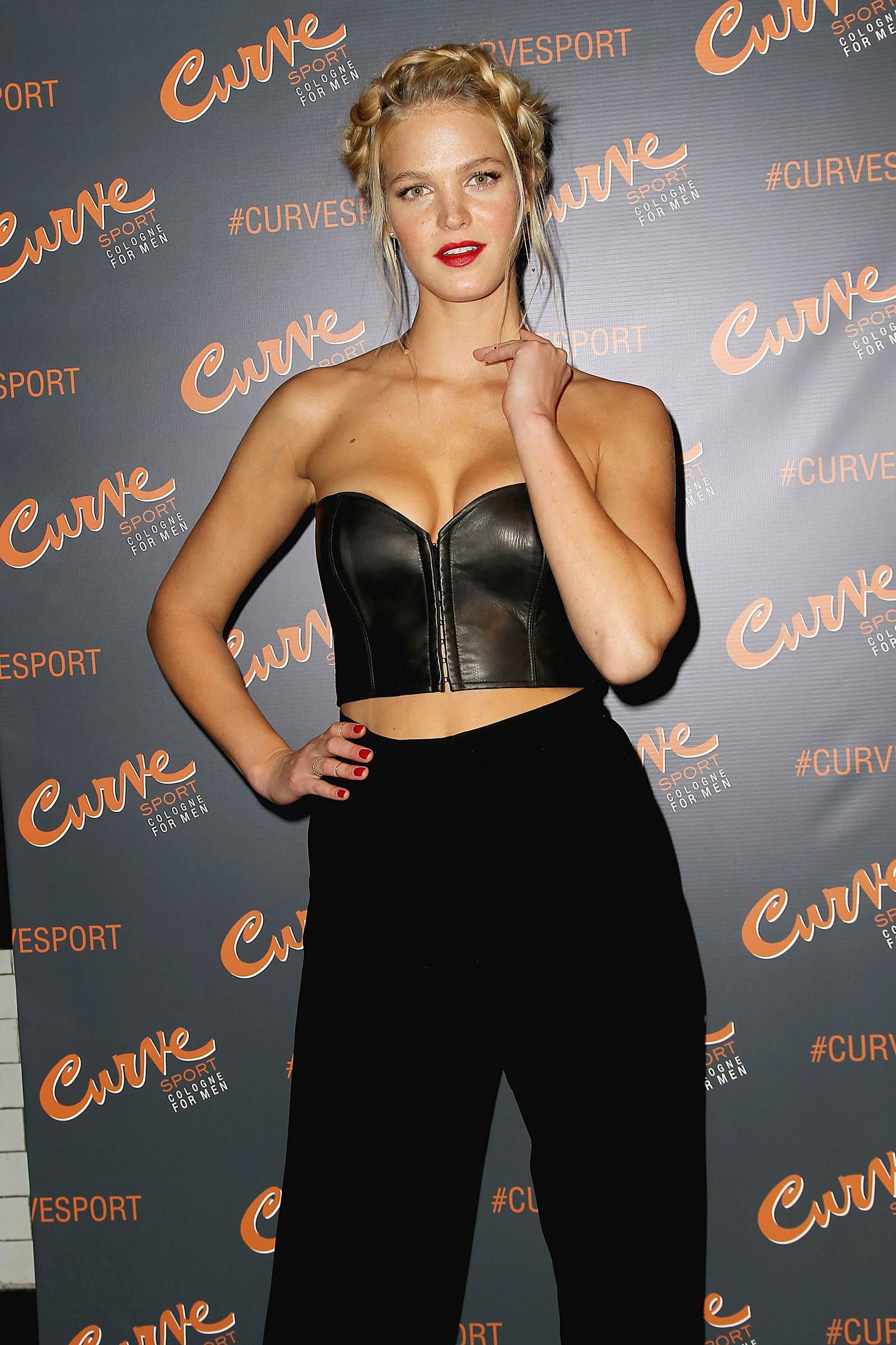 Erin Heatherton attends Curve Sport Launch Party